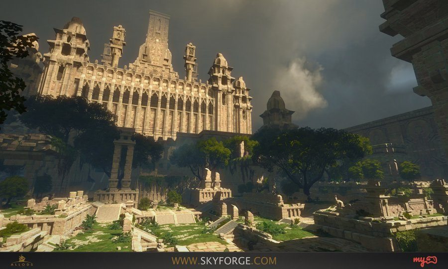 Skyforge Unveils New Guild Feature