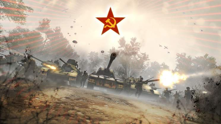 Soviets Invade Heroes and Generals