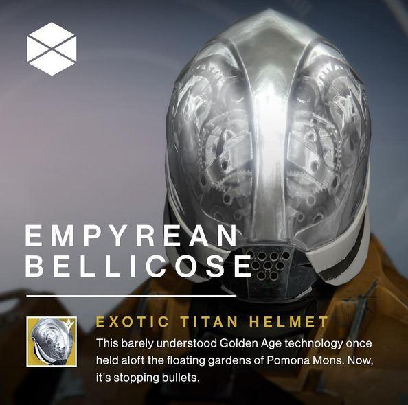 Destiny helmet