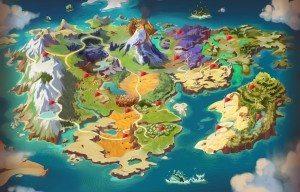 dragomon map