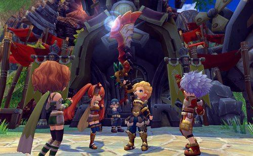 New MMORPG Dragomon Hunter Classes Revealed